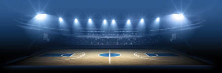 team sports: Basketball stadium