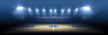 terrain de basket: stade de basket-ball