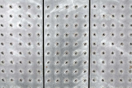 aluminium texture: perforated metal