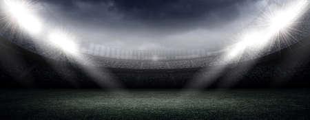 Eine imaginäre Stadion Standard-Bild - 47088685