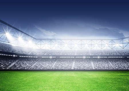 Eine imaginäre Stadion Standard-Bild - 47088688