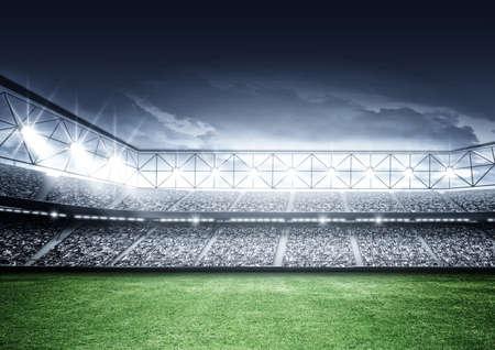 Eine imaginäre Stadion Standard-Bild - 47087697