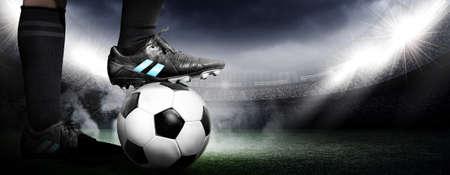 voetbal Stockfoto