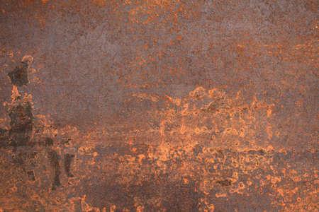 dark backgrounds: rusty metal surface