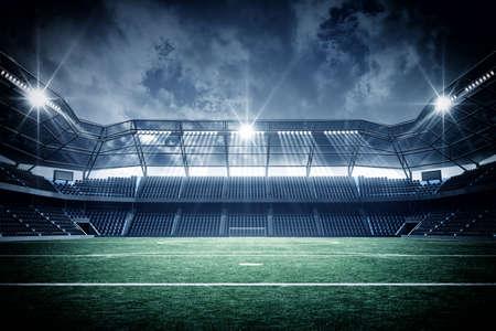 terrain de foot: Stadium  Banque d'images
