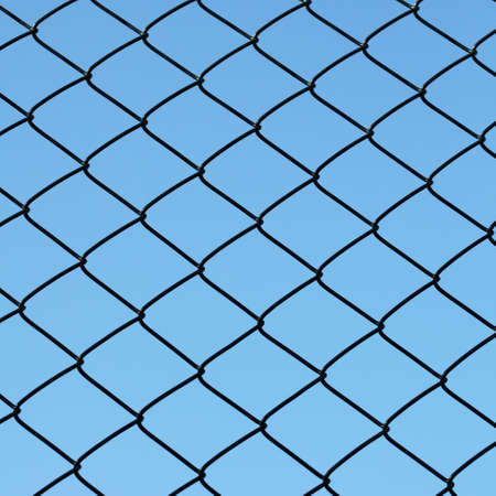 netting: wire netting Stock Photo