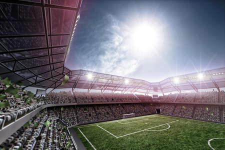 Estadio  Foto de archivo - 47088621