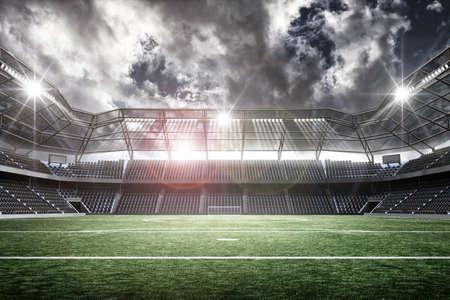 sports backgrounds: stadium