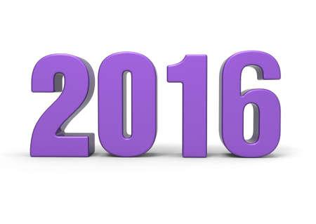 futures: year 2016 Stock Photo