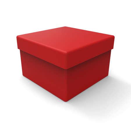 square shape: Red box, square shape