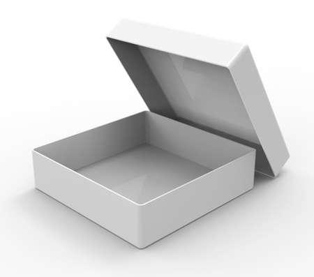 square shape: White box, square shape