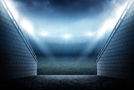 Stadion  Standard-Bild - 50556079
