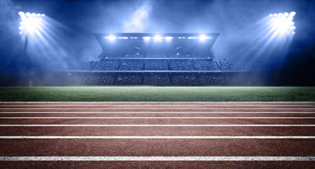 athletics stadium 스톡 콘텐츠