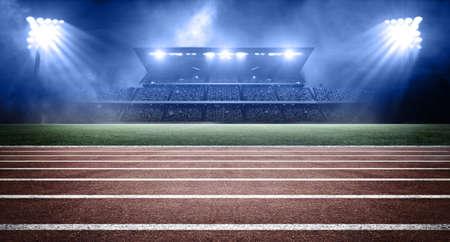 athletics stadium Archivio Fotografico