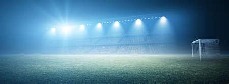 cancha de futbol: Estadio  Foto de archivo