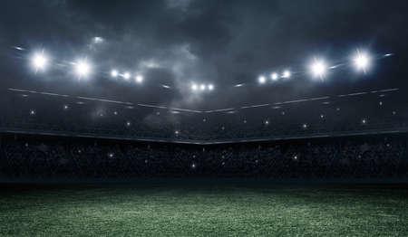 grass background: stadium