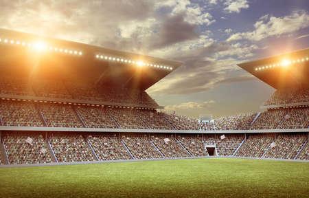 competencia: Estadio  Foto de archivo