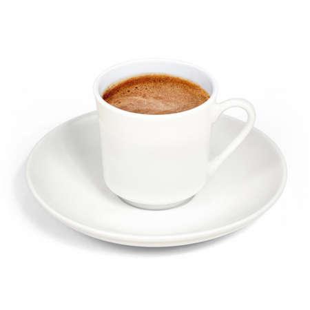 Turkish coffee, foamy Stock Photo