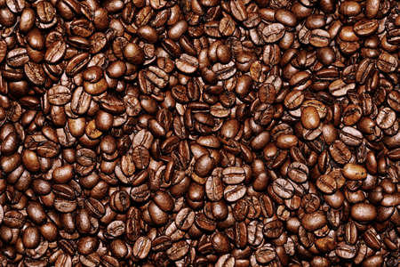 macro   photo: Macro photo of coffee beans