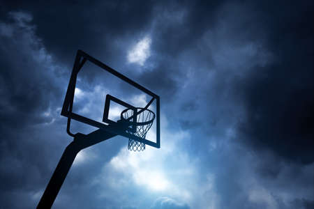 Basketball hoop 写真素材 - 138645022