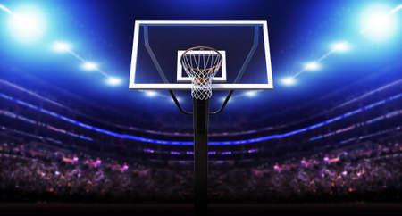 balones deportivos: baloncesto Arena  Foto de archivo