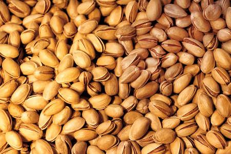 dried: Roasted Pistachio Stock Photo
