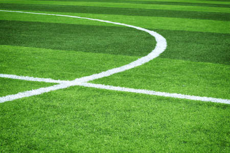Fußballfeld  Standard-Bild