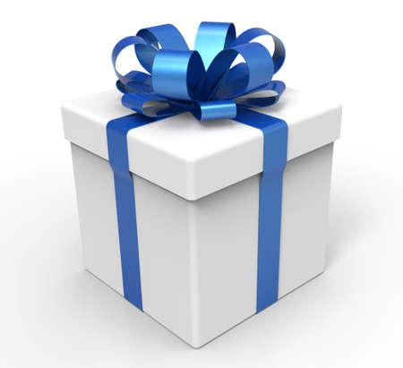 3d boîte cadeau