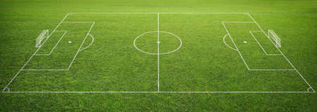 goal post': soccer field with goal post