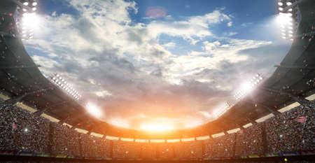 가상 경기장, 3d 렌더링