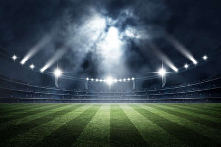 Stadion, 3D-Rendering