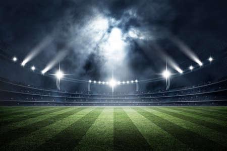 Stadium, 3D-rendering