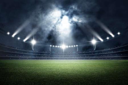 Stadion, 3D-Rendering Standard-Bild - 66830606