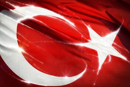 Photo of Turkish flag