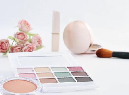 Natural color of make-up accessories