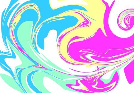 Vivid hologram. Pastel iridescent colorful pattern. Abstract background. Vector illustration.