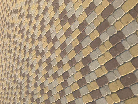 background texture paving tile of different colors.