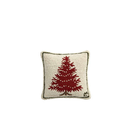 Christmas pillow, cushion. Christmas tree decoration Spruce Festive ornaments for home,