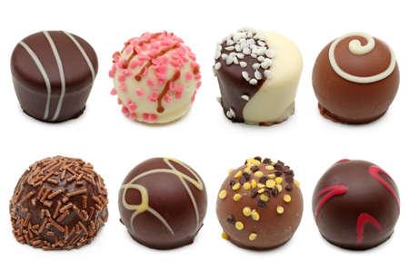 chocolate truffle: chocolate truffles assortment