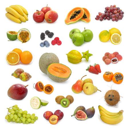 grenadilla: mixed fruits collection