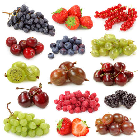 Fresh berries collection photo