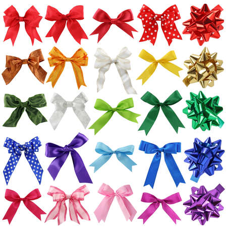 bow knot: Bows collection  Stock Photo