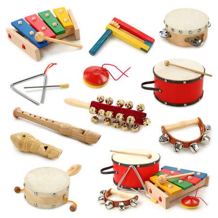instrumentos musicales: Instrumentos musicales Foto de archivo