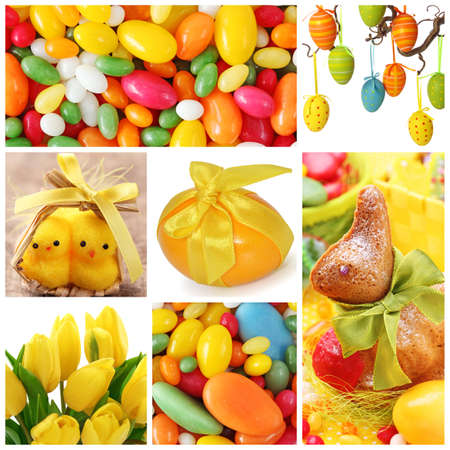 easter cookie: Easter collage