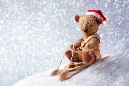 osos navide�os: Oso de peluche de Santa