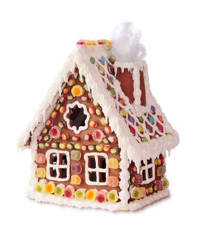 Homemade casa di marzapane
