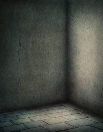 piso piedra: Fondo oscuro con un suelo de piedra