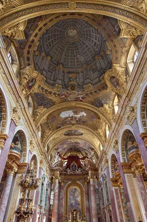 jesuit: The Jesuit Church or the University Church vienna, Austria Editorial
