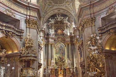 peters: St. Peters Church, Vienna, Austria Editorial