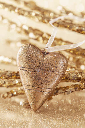 vetical: Golden Christmas coraz�n de cerca
